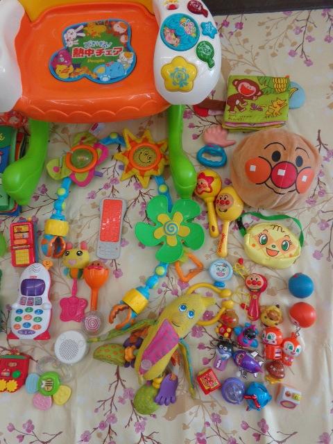 送料無料 アンパンマン おもちゃ まとめて 0歳 3ヵ月 1歳 1歳半  中古 しまじろう フィッシャープライス がちゃがちゃ等_画像3