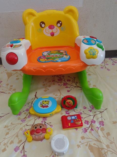 送料無料 アンパンマン おもちゃ まとめて 0歳 3ヵ月 1歳 1歳半  中古 しまじろう フィッシャープライス がちゃがちゃ等_画像5