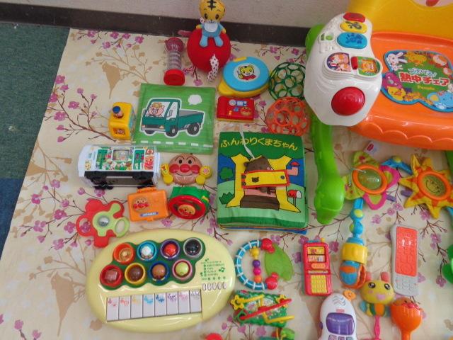 送料無料 アンパンマン おもちゃ まとめて 0歳 3ヵ月 1歳 1歳半  中古 しまじろう フィッシャープライス がちゃがちゃ等_画像2