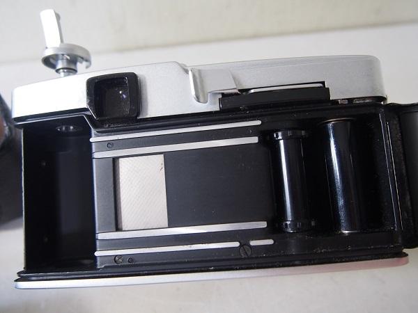 OLYMPUSオリンパス PEN-F ボディ+レンズ2個 中古ジャンク品_画像9