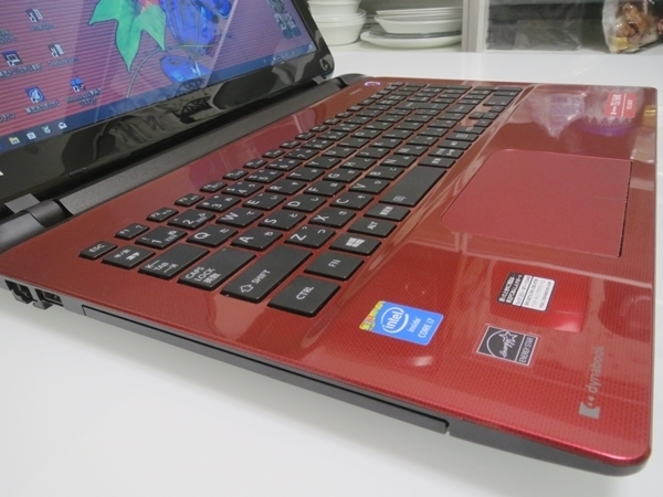 dynabook T55/56MR Windows10 i7 8GB 1TB DVDマルチ 15.6型 無線 Office 2013 Home & Business 美品・送料込み_画像6