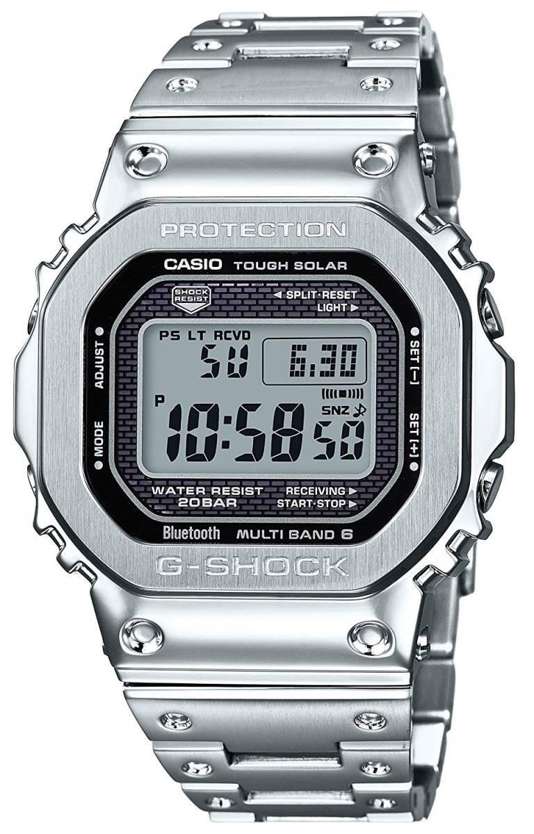 G-SHOCK Bluetooth搭載 電波ソーラー CASIO カシオ Gショック 35周年記念 国内正規品 GMW-B5000D-1JF 新品未使用