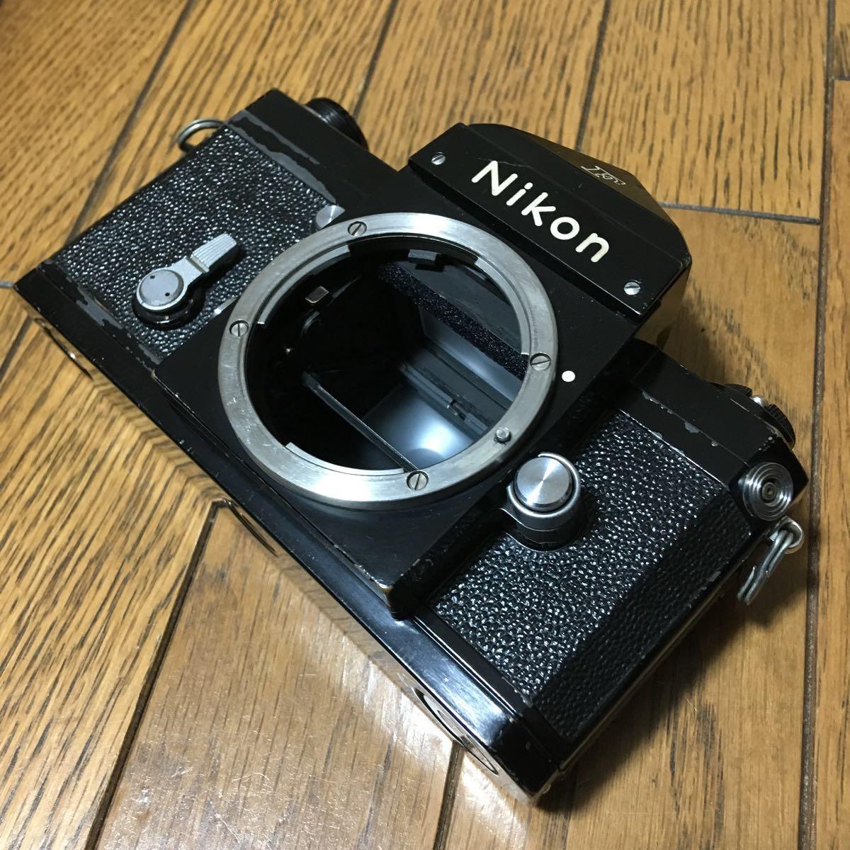 Nikon F アイレベル ブラック ボディ 646万台 前期型 動作確認済みです。_画像9