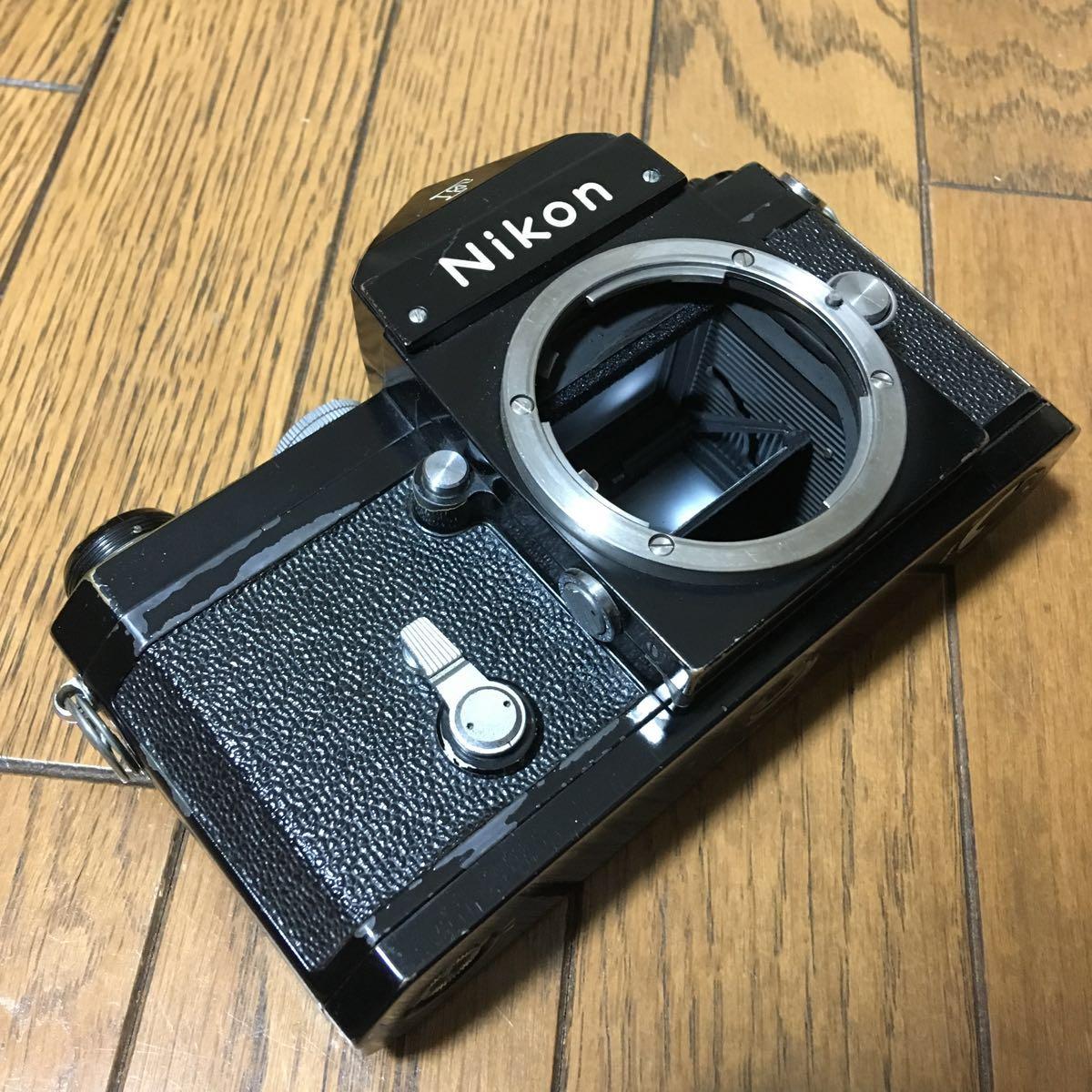 Nikon F アイレベル ブラック ボディ 646万台 前期型 動作確認済みです。_画像8