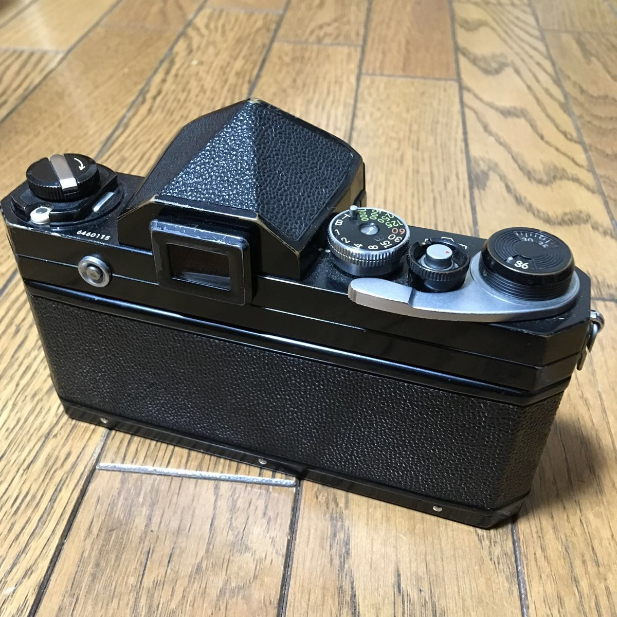 Nikon F アイレベル ブラック ボディ 646万台 前期型 動作確認済みです。_画像5