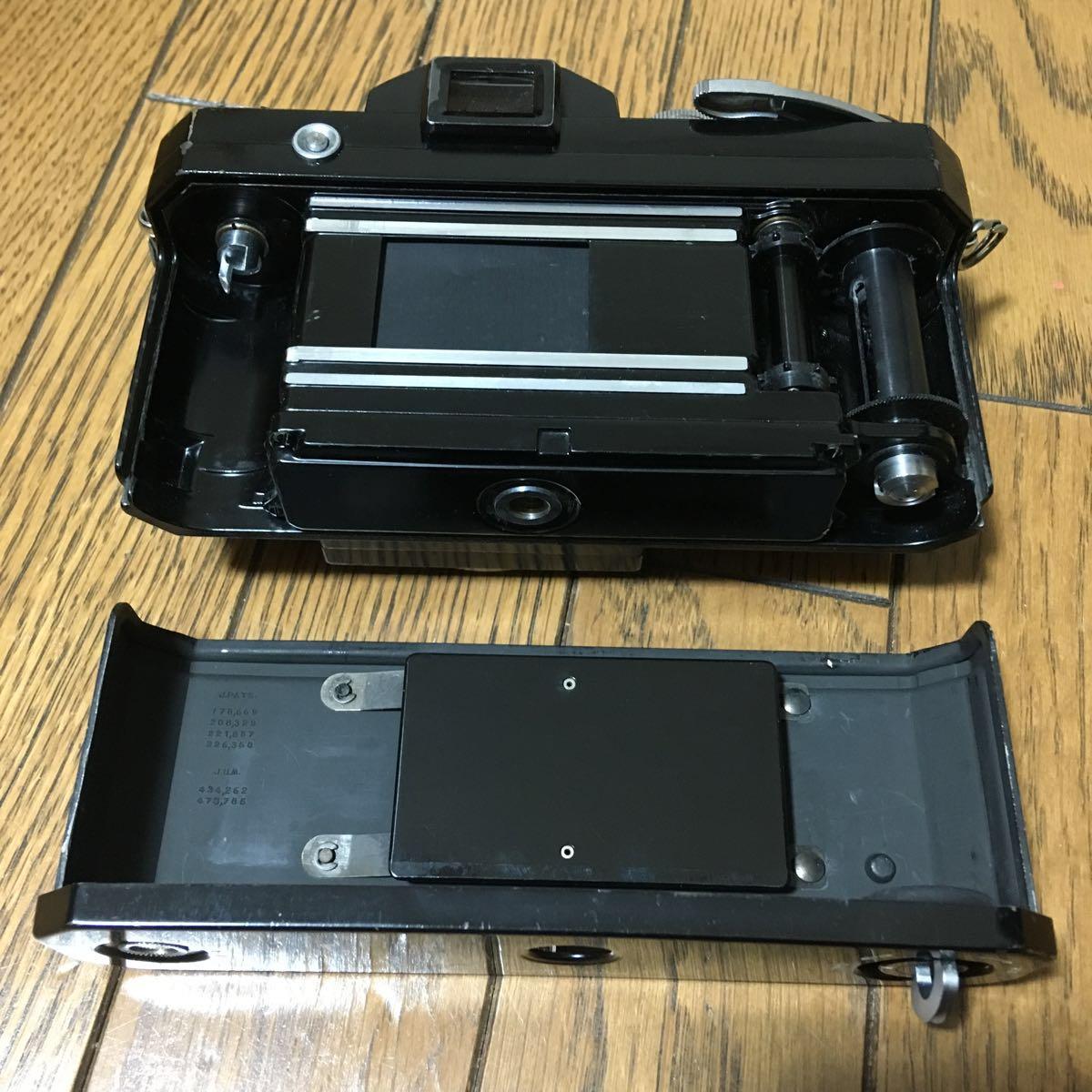 Nikon F アイレベル ブラック ボディ 646万台 前期型 動作確認済みです。_画像7