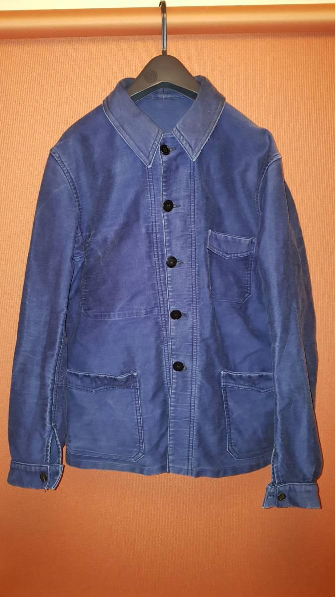 70s80sダントン製 ヴィンテージモールスキンワークジャケット