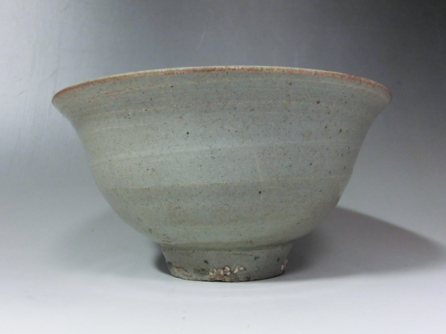 茶碗■高麗青磁 砂高台 時代物 李朝 古玩 時代物 古美術 骨董品■_画像4