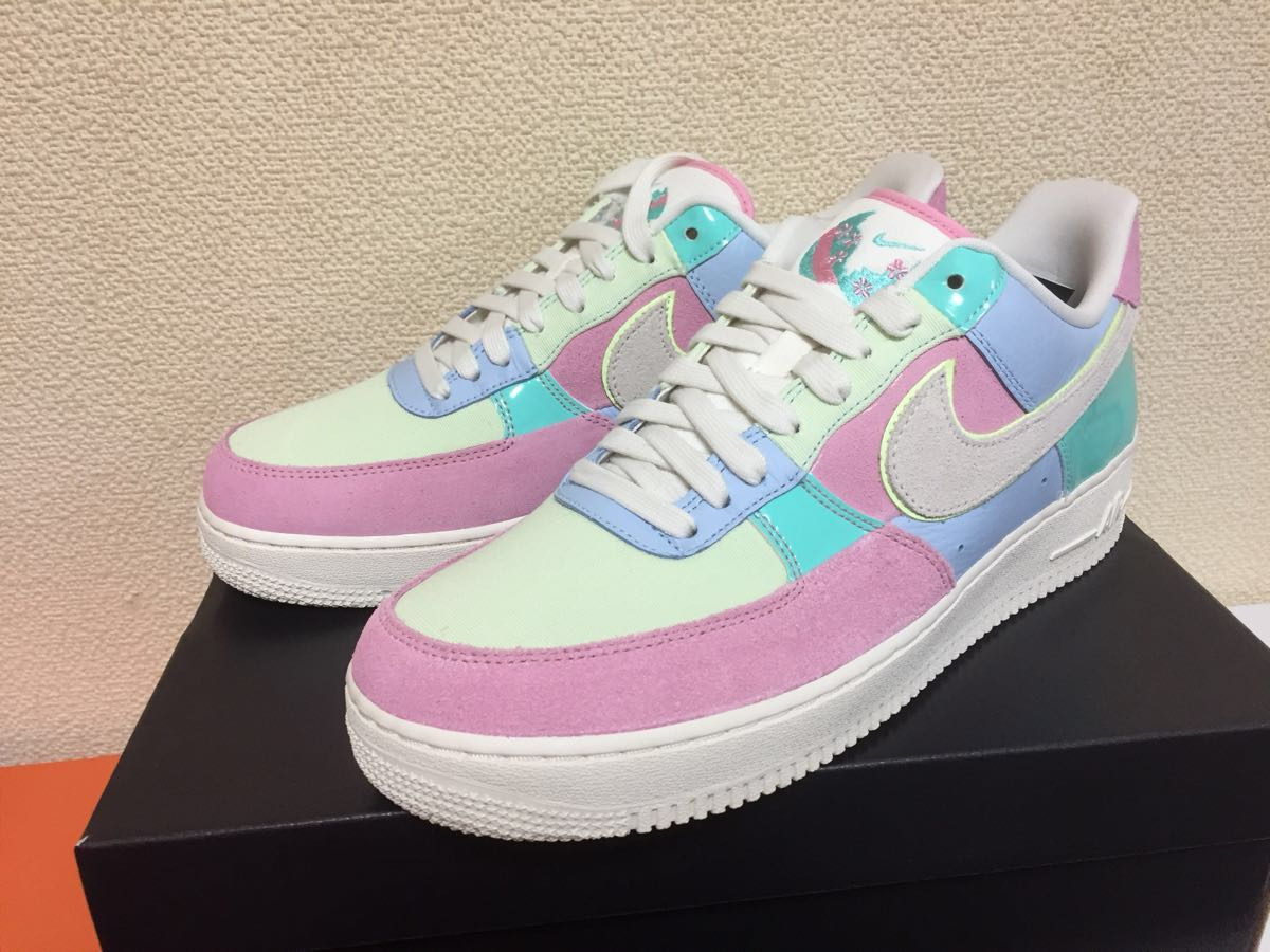 Nike Air Force 1 Low Easter Egg AH8462 400 domestic regular article Nike air force 1 low Easter egg