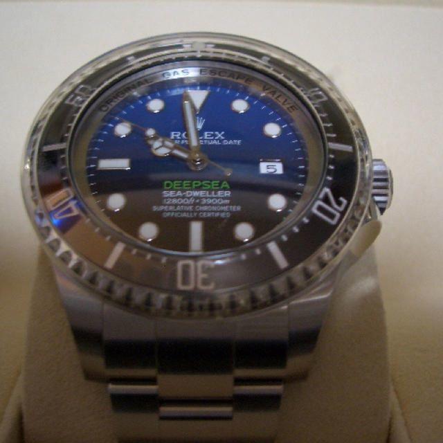 新品 未使用品 国内正規品 ロレックス シードゥエラー ディープシー Dブルー D-BLUE Ref: 116660 付属品完備
