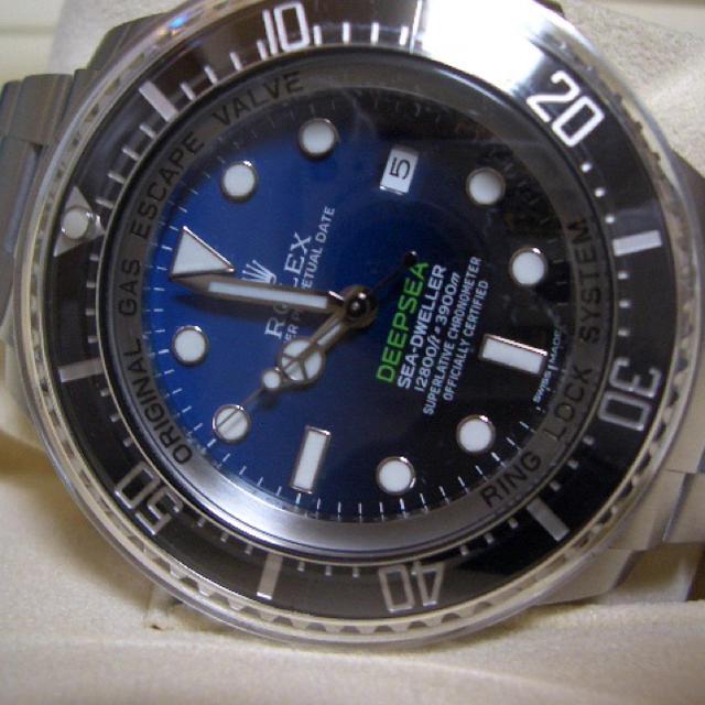 新品 未使用品 国内正規品 ロレックス シードゥエラー ディープシー Dブルー D-BLUE Ref: 116660 付属品完備_画像4