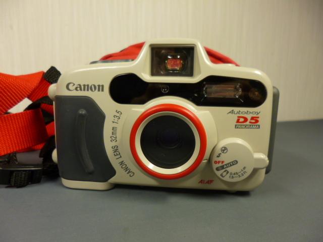 ジャンク CANON キャノン AUTOBOY D5 水中カメラ 防水 カメラケース付_画像2