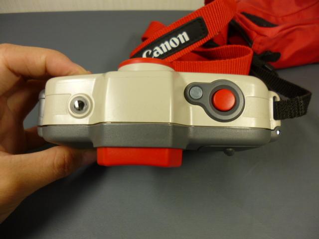 ジャンク CANON キャノン AUTOBOY D5 水中カメラ 防水 カメラケース付_画像4