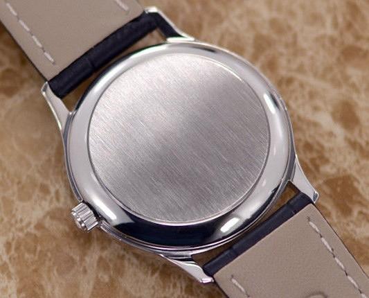 【☆新品仕上げ済み☆】オメガ デビル Cal.1002 ヴィンテージ アンティーク 自動巻き メンズ腕時計 極上品 黒_画像6