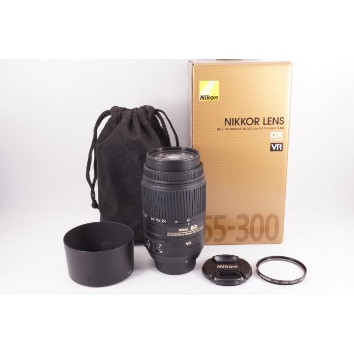 人気望遠レンズ☆NIKON ニコン AF-S 55-300mm F4.5-5.6G ED VR 極上品
