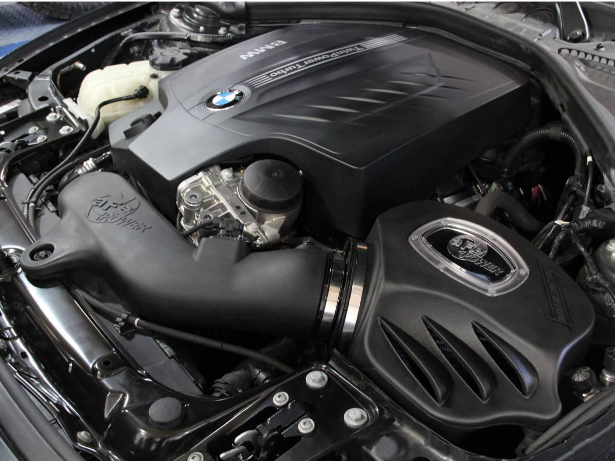 【aFe POWER】◆品番54-82202 BMW F30 F31 F34 335i F32 F33 F36 435i インテークシステムキット 湿式 Stage-2 Pro 5R エアクリーナー_画像6