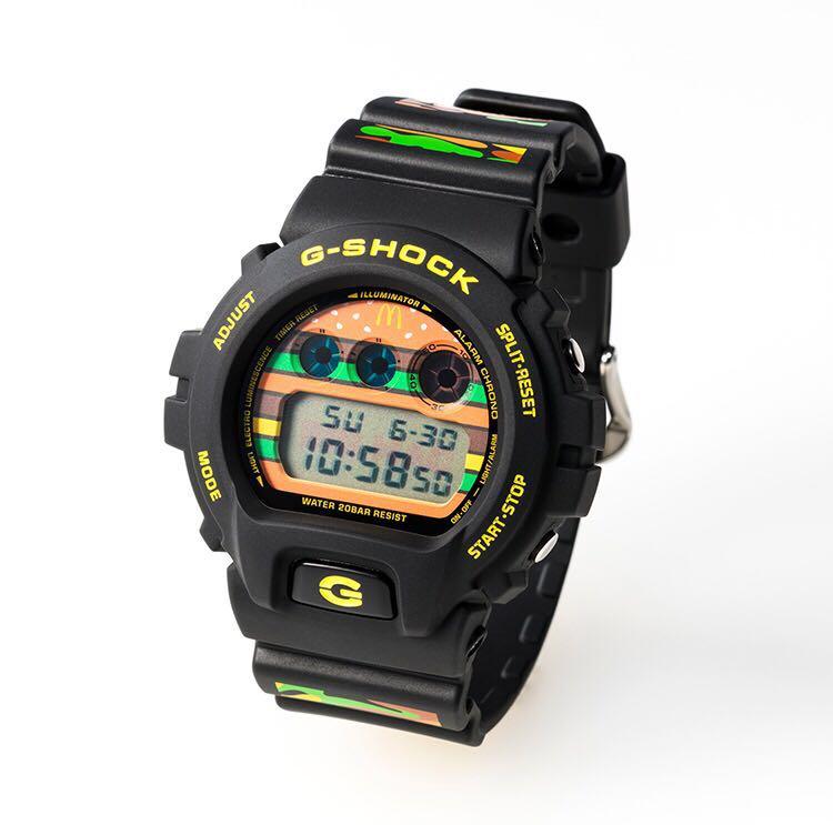 【1,000個限定】マクドナルド × G-SHOCK 限定モデル ウォッチ