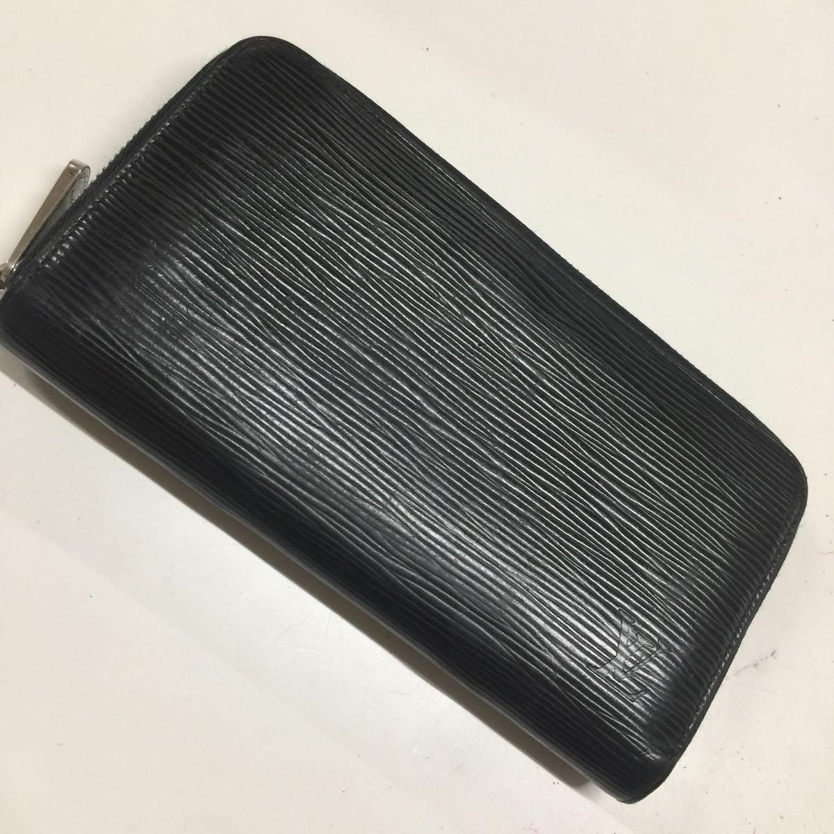 Louis Vuitton ルイヴィトン 長財布 エピ ブラック