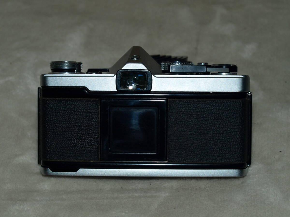 【試写済み】OLYMPUS オリンパス OM-1(初期型)(整備、モルト張替え、ペンタプリズム交換済み) ZUIKO 50mm 1.8(銀枠)_画像6