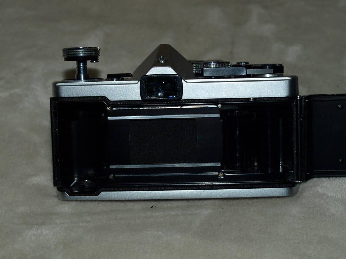 【試写済み】OLYMPUS オリンパス OM-1(初期型)(整備、モルト張替え、ペンタプリズム交換済み) ZUIKO 50mm 1.8(銀枠)_画像7