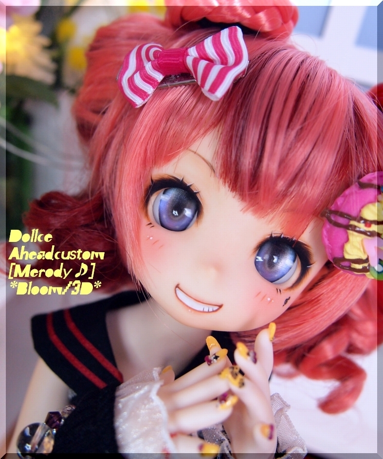 *B-3D*Dollce A:カスタムヘッド[Melody♪]開口+Eye3p:MDD、40素体等にも♪_画像3