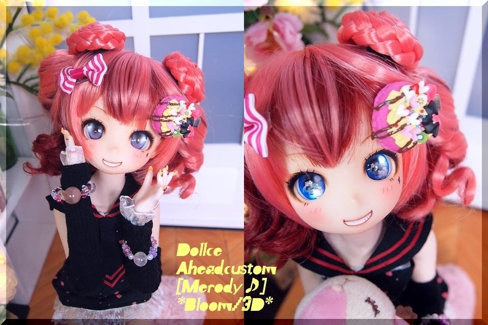 *B-3D*Dollce A:カスタムヘッド[Melody♪]開口+Eye3p:MDD、40素体等にも♪_画像4