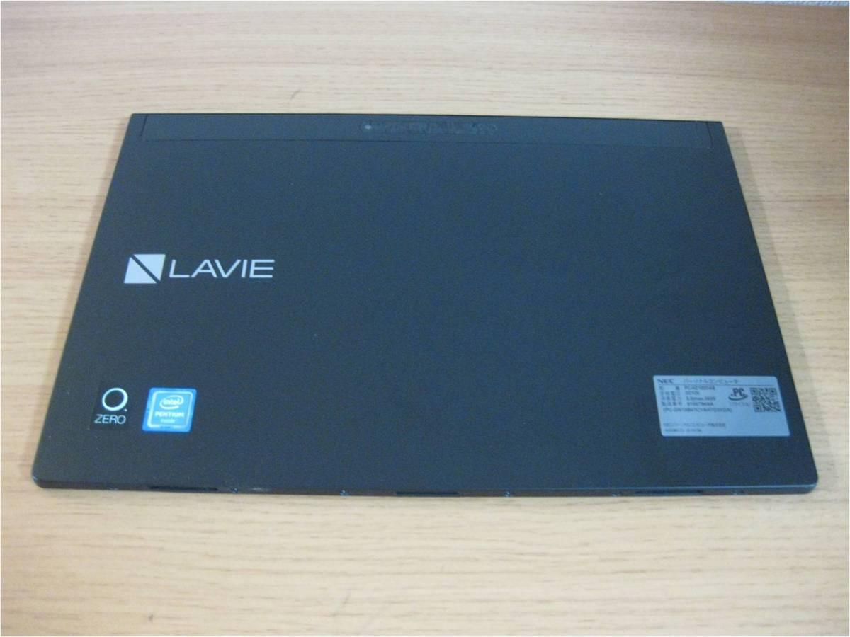【キーボード付】NEC LAVIE Hybrid ZERO HZ100/DAB PC-HZ100DAB ストームブラック_画像3