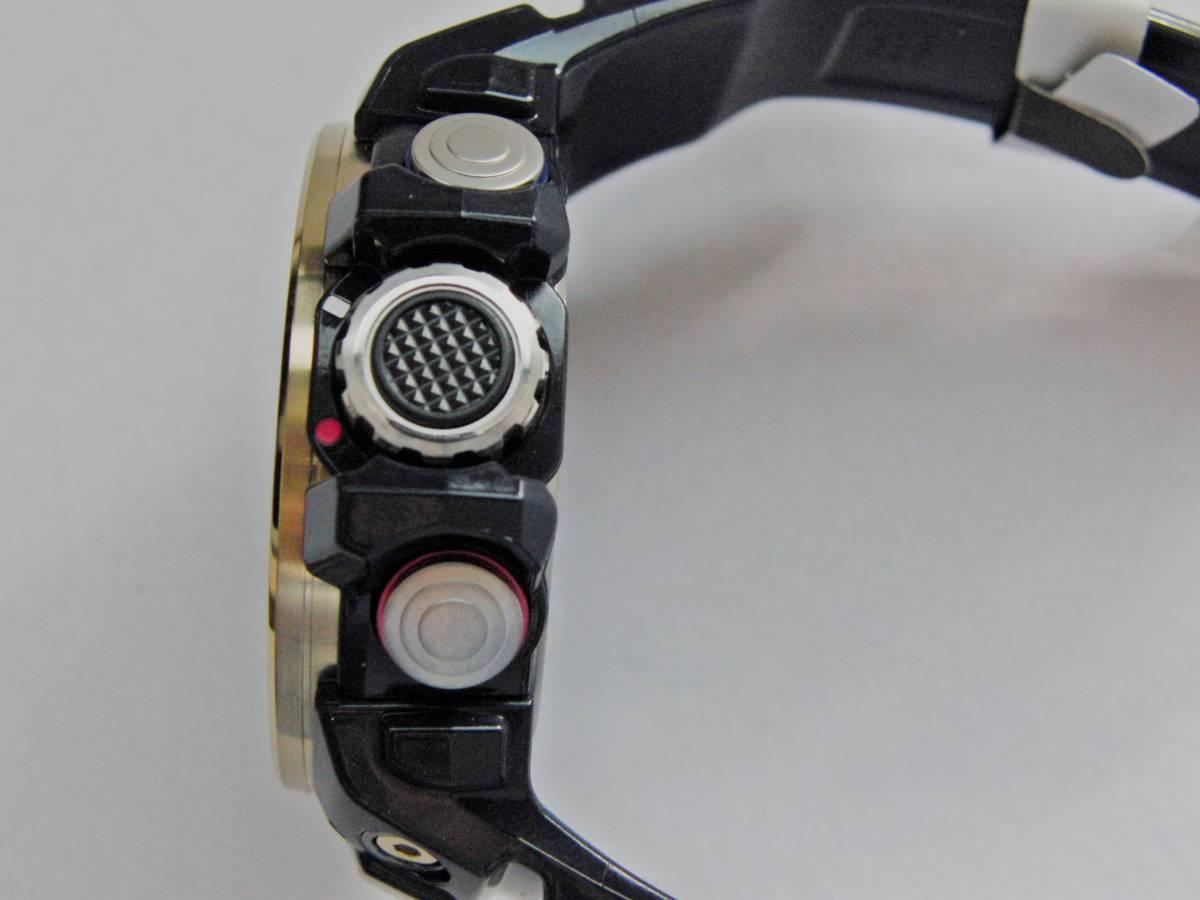 新品 展示品 カシオ Gショック GULFMASTER Triple Sensor GWN-1000F-2AJF ガルフマスター 気圧/ 高度・方位・温度計測機能 ソーラー電波_画像5