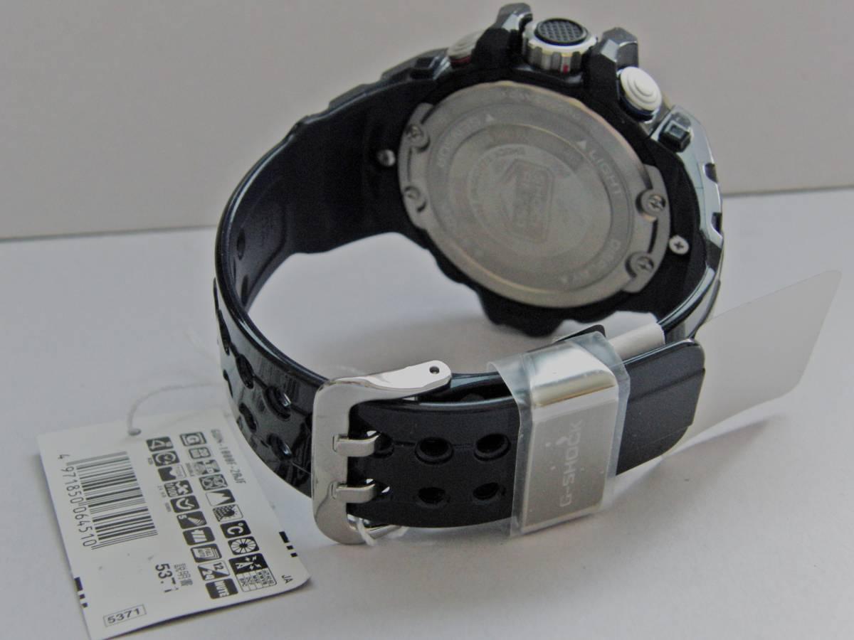 新品 展示品 カシオ Gショック GULFMASTER Triple Sensor GWN-1000F-2AJF ガルフマスター 気圧/ 高度・方位・温度計測機能 ソーラー電波_画像7