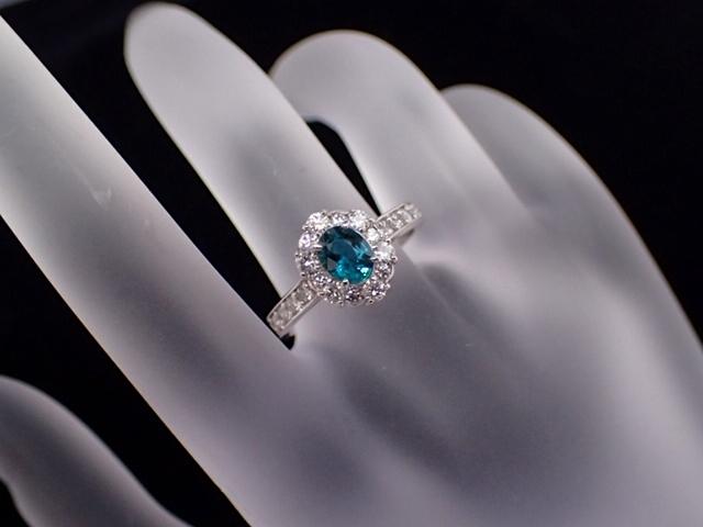 【Toppin顏色! 】(帶日本和德國歧視說明)大顆粒超高級Grand Didier輕型0.497克拉鑽石總計0.52噸白金900 編號:q206463709