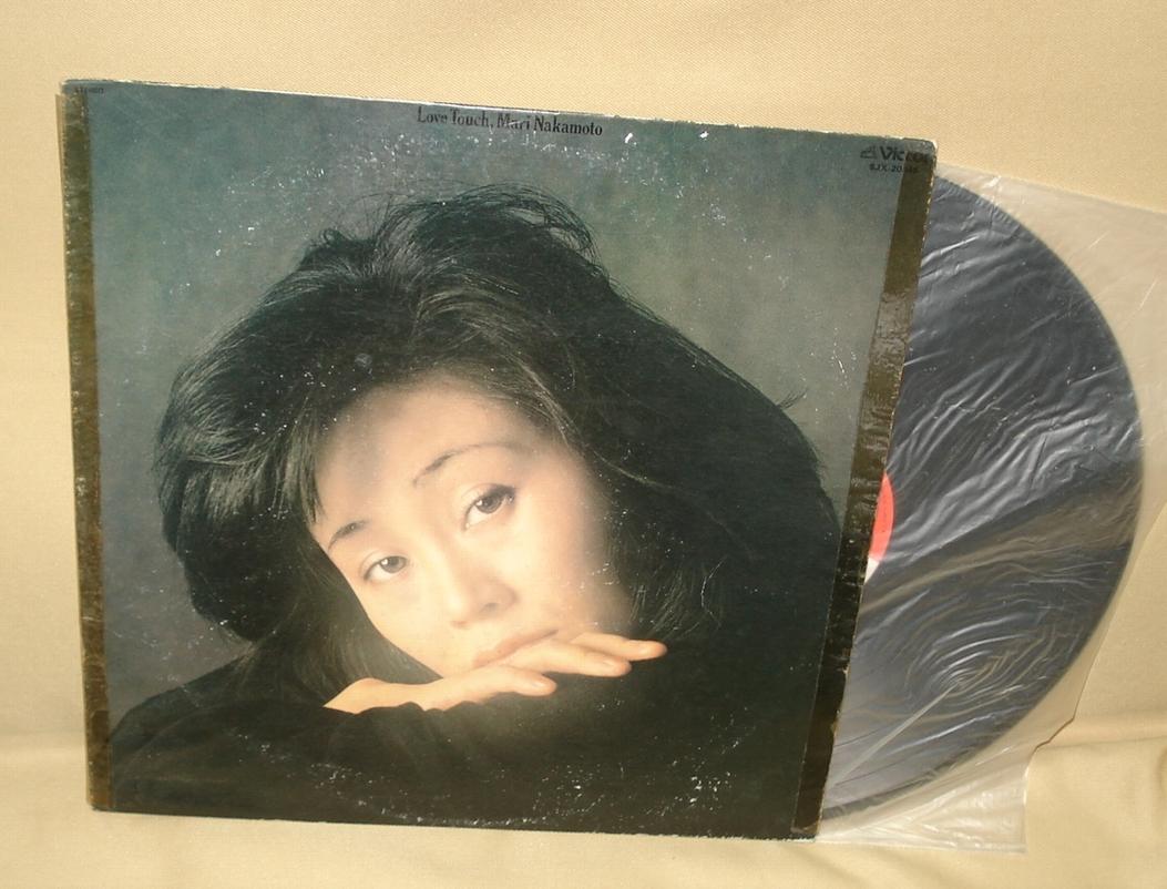 中本マリ/ラブ・タッチ LOVE TOUCH(LP,難有り)_画像1