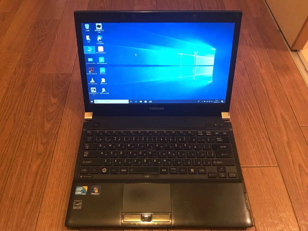 超速さ 持ちやすい 120GSSD 東芝 dynabook R730/B Core I5 M560
