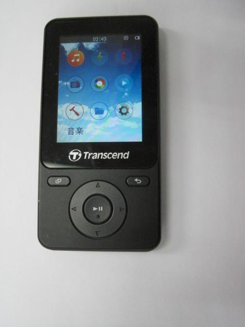 中古品 Transcend MP710  ブラック 本体 8GB_画像1