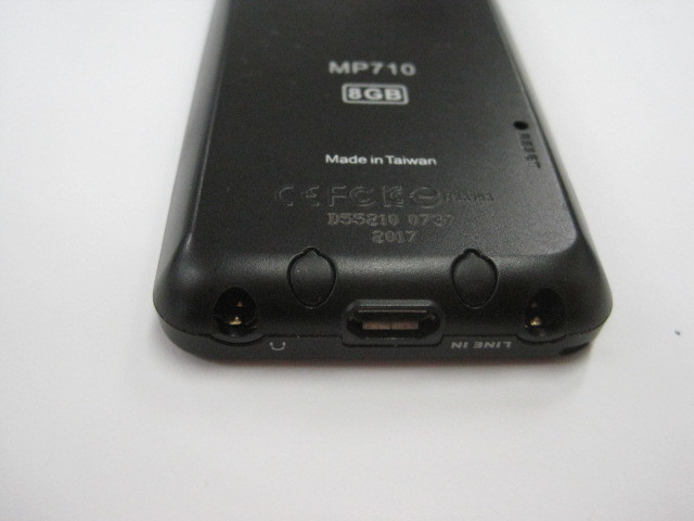 中古品 Transcend MP710  ブラック 本体 8GB_画像5