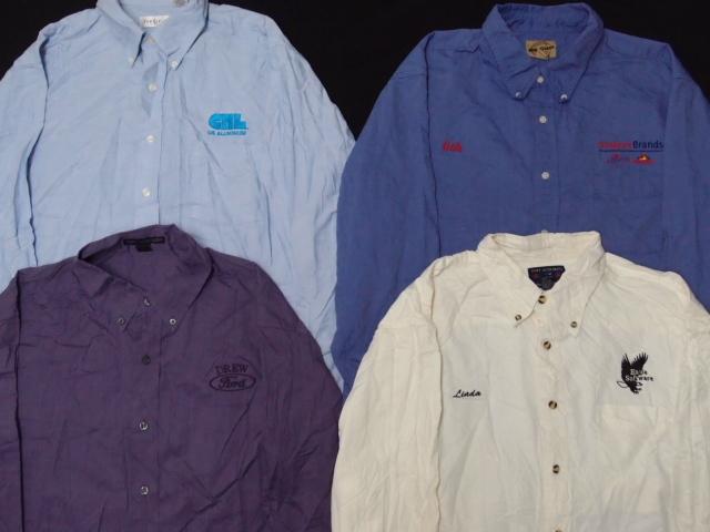 ◆古着卸USA■スタッフシャツ15枚セット★企業ワンポイント★★★サイズMIX 長袖  アメリカ直輸入 訳_画像3