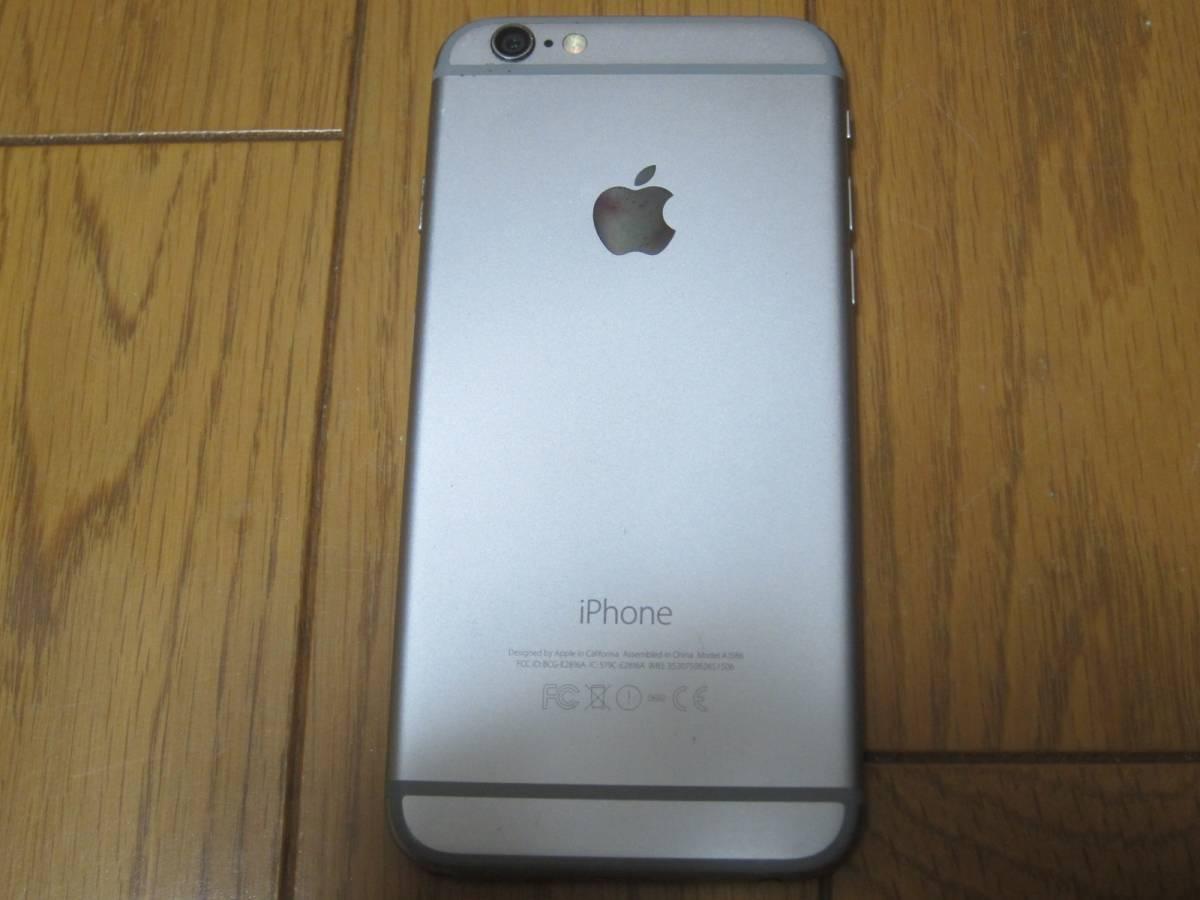 simフリー iPhone6 128GB ジャンク④_画像2