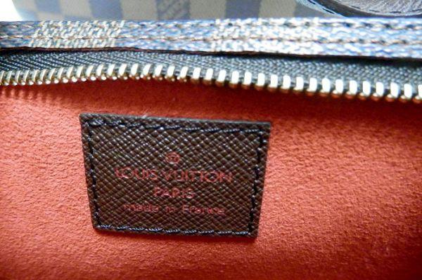 【極美品 ポーチ付】ルイヴィトン ダミエ マレ バッグ 付属品有 ショルダーバッグ エヌベ バケツ型 N42240 Louis Vuitton _画像10