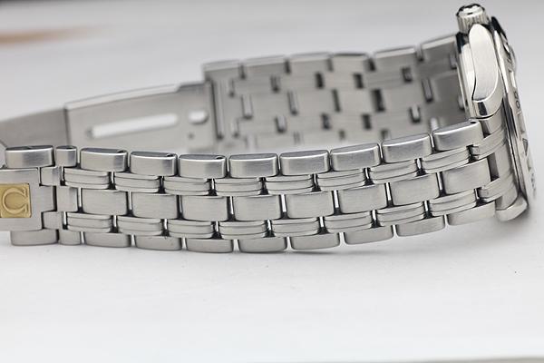 1円 美品 OMEGAオメガ Seamasterシーマスター オメガマチック 200m メンズ 腕時計_画像7