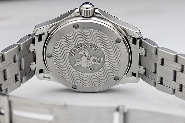1円 美品 OMEGAオメガ Seamasterシーマスター オメガマチック 200m メンズ 腕時計_画像5