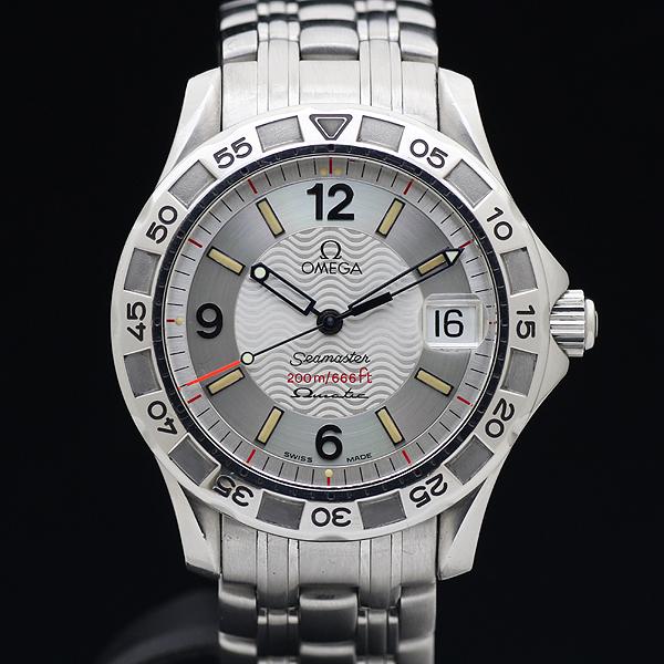1円 美品 OMEGAオメガ Seamasterシーマスター オメガマチック 200m メンズ 腕時計_画像2