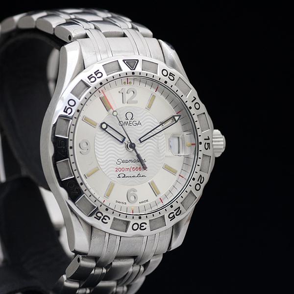 1円 美品 OMEGAオメガ Seamasterシーマスター オメガマチック 200m メンズ 腕時計