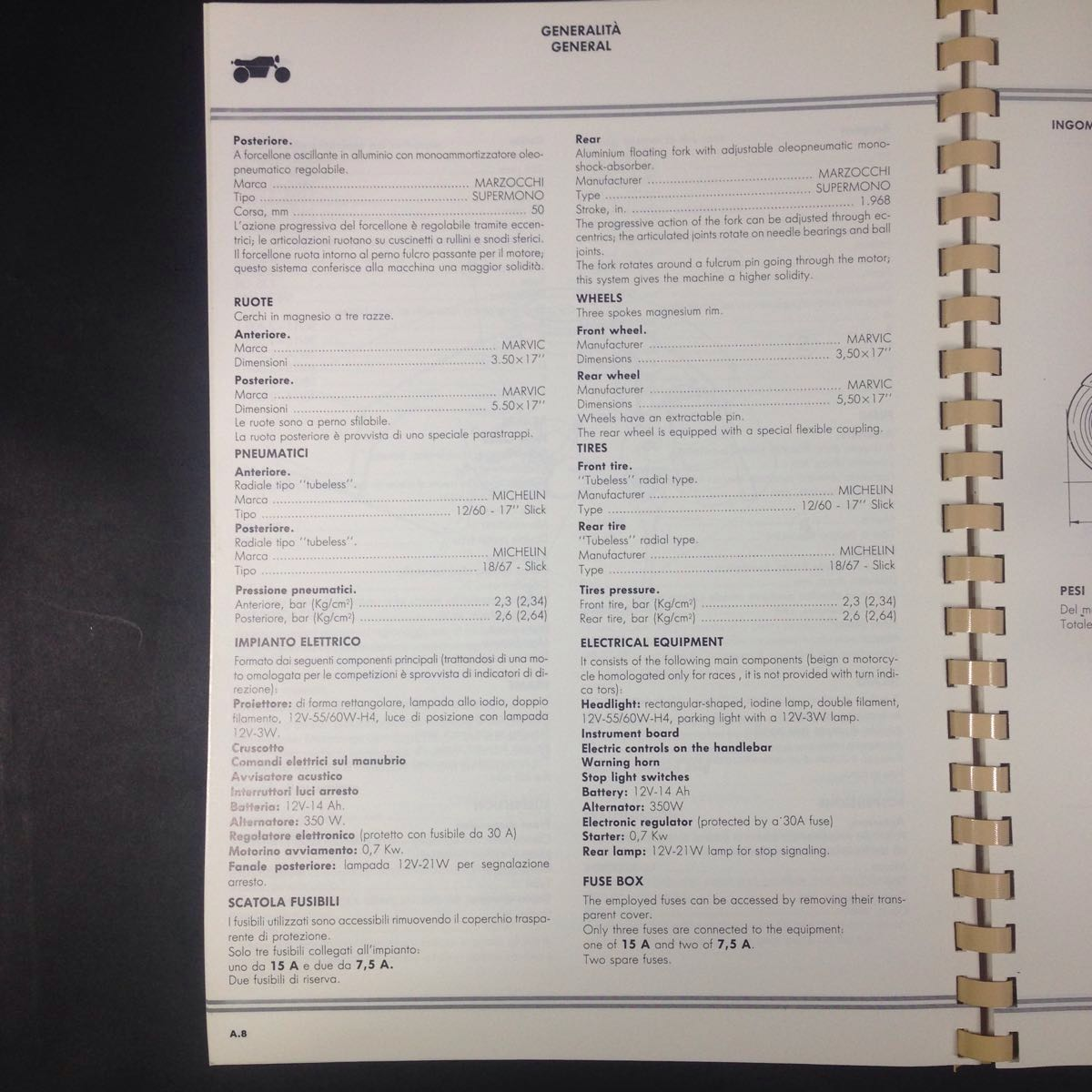 Ducati 851 Official Manual Unused Goods That Time Thing Real Yahoo Fuse Box