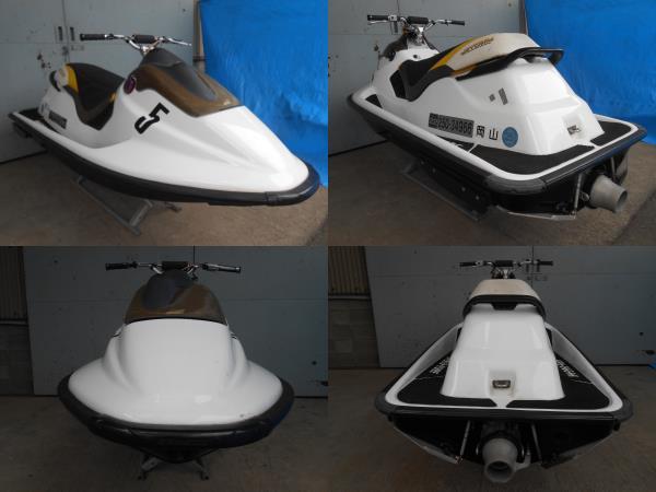 「sea doo シードゥ SPX カーボンハル新造艇 完全なレース艇」の画像3