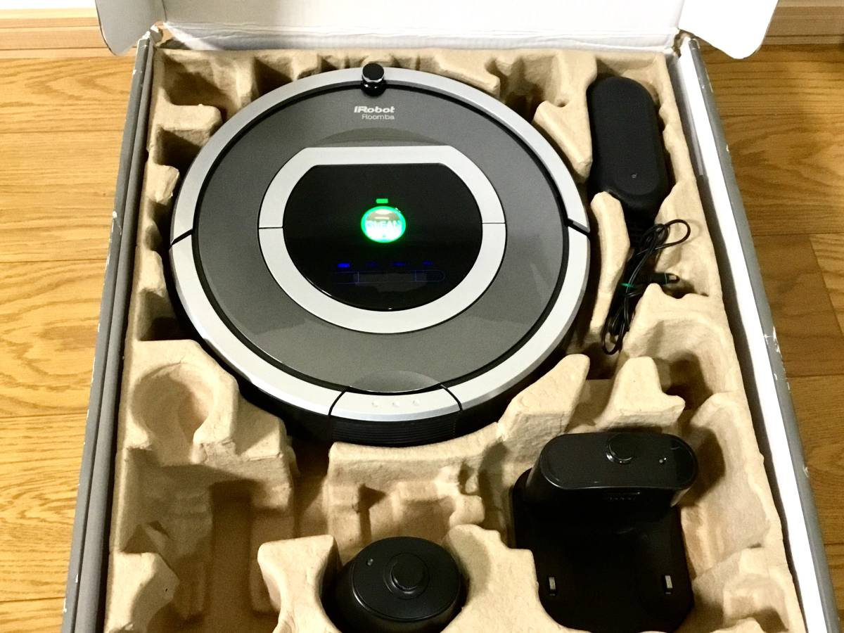 極美品! ルンバ ロボット掃除機 iRobot Roomba 780 バッテリー新品交換済み! エッジブラシ新品! フィルター新品! OH済!