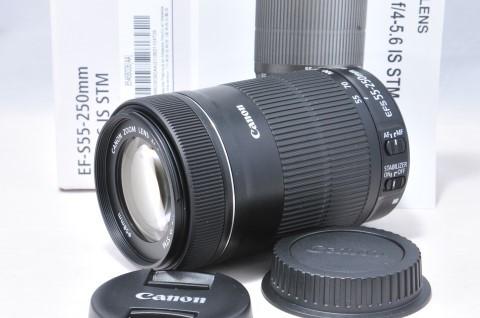 【 極上品 】CANON キヤノン EF-S 55-250mm F4-5.6 IS STM 安心6ケ月保障 18D-050