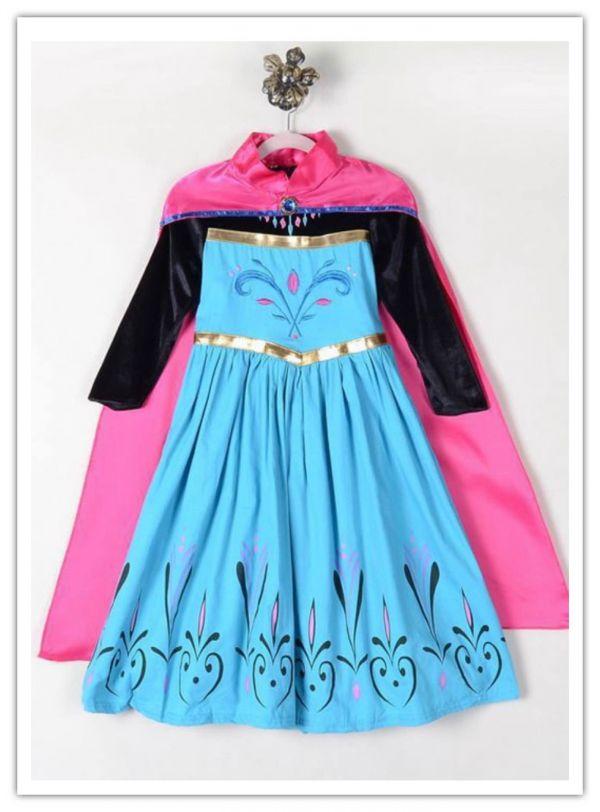 c40e8ec8c825d 120 送料無料 新品 アナと雪の女王 エルサ コスプレ ドレス ワンピース ハロウィン 子供 仮装