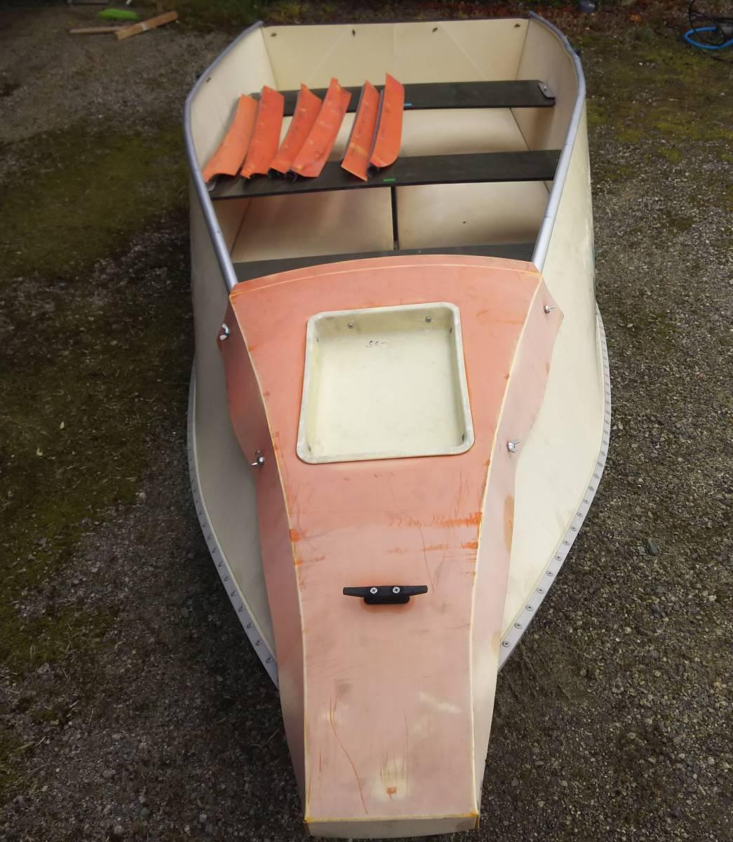 フリージアボート12f  折りたたみ ポーター 引き取り限定_画像1