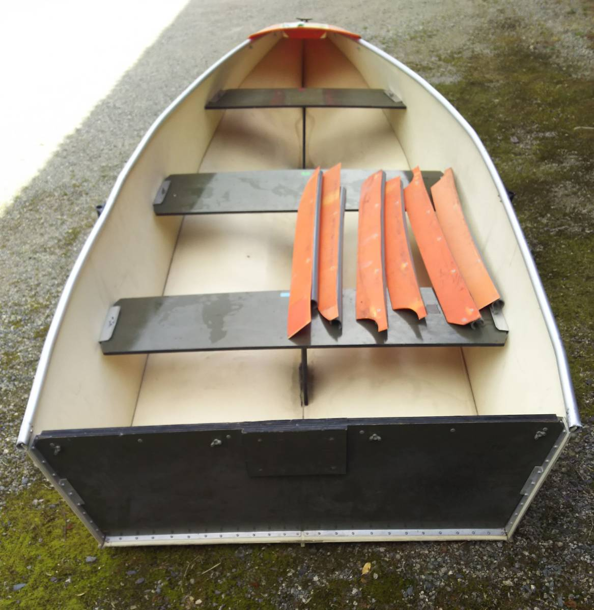 フリージアボート12f  折りたたみ ポーター 引き取り限定_画像2