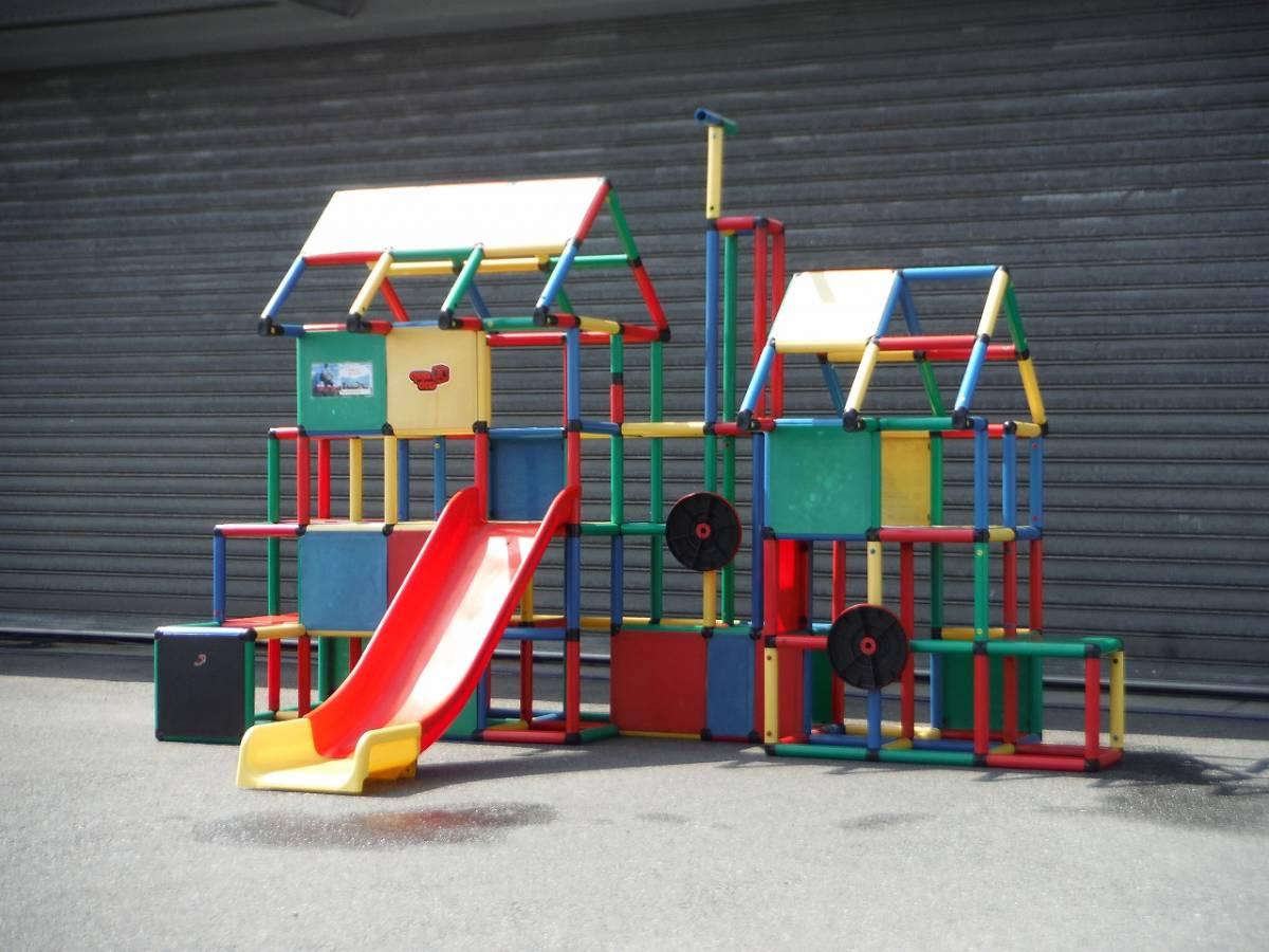 QUADRO 大型システム遊具 quadro ドイツ遊具メーカー 中古品 引き取り限定_ドイツ大型遊具 メーカーQUADRO製