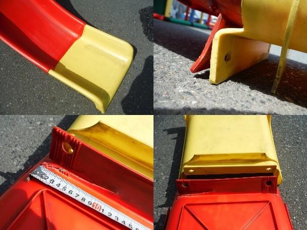 QUADRO 大型システム遊具 quadro ドイツ遊具メーカー 中古品 引き取り限定_滑り台部切れ、ピン欠品有り